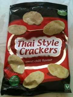 Thai Style Crackers – Sweet Chilli Flavour from Asda 60g