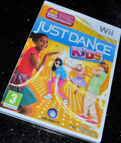 Just Dance Kids on the Wii & Giveaway