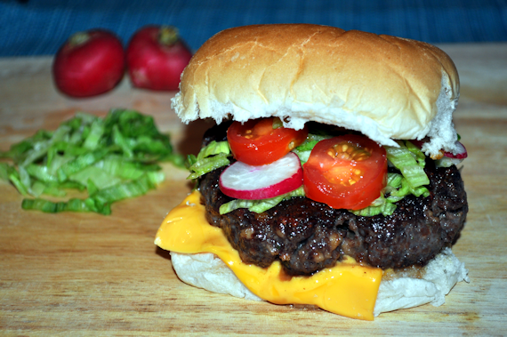 Buffalo Burger Cooked 570