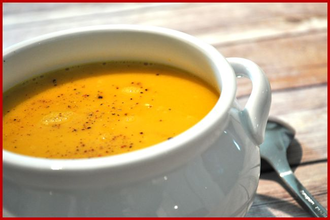 Soup Maker: Carrot and Ginger Soup Recipe