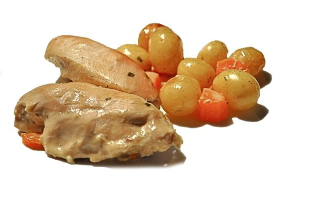Roasting Bag: Chicken Breasts in Chicken Tonight Country French White ...