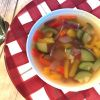 Chunky Mediterranean Vegetable Soup 2