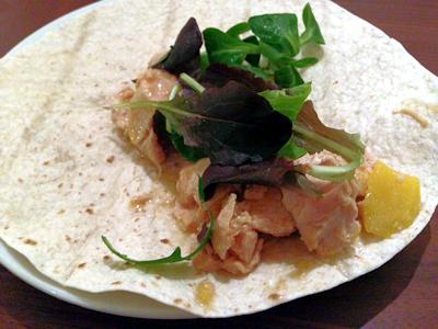 Mango Chicken Wrap 1