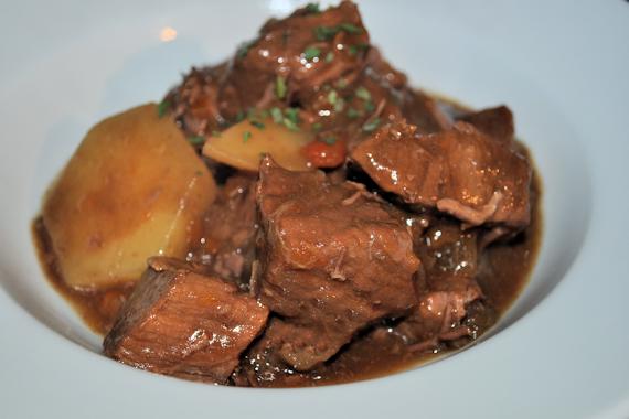 Slow Cooked Steak & Potato Hotpot
