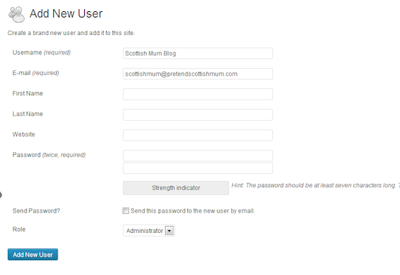 Username 1