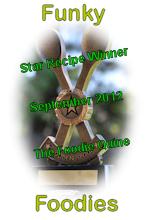 Winner BadgeSeptember 2012 Foodie Quine